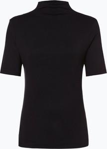 Czarny t-shirt Rich & Royal z krótkim rękawem w stylu casual