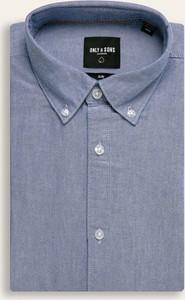 Koszula Only & Sons z długim rękawem z tkaniny