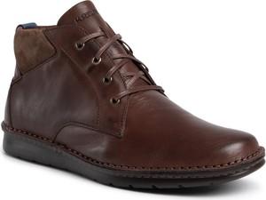 Brązowe buty zimowe Krisbut