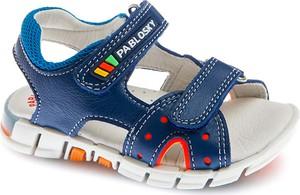 Buty dziecięce letnie Pablosky ze skóry