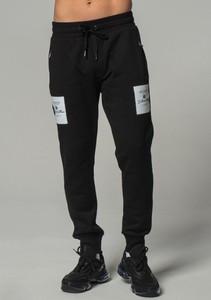 Czarne spodnie sportowe Dolce & Gabbana