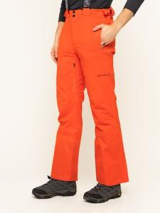 Czerwone spodnie sportowe Spyder