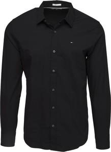 Czarna koszula Tommy Jeans z bawełny