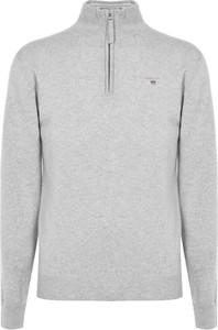 Sweter Gant w stylu casual ze stójką z wełny