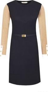 Sukienka Tory Burch z długim rękawem w stylu casual trapezowa