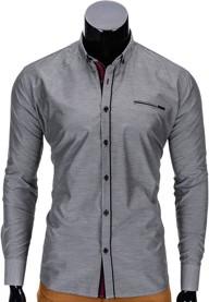 Koszula ombre clothing z krótkim rękawem z nadrukiem w młodzieżowym stylu