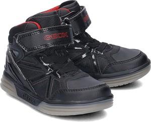 Buty dziecięce zimowe Geox ze skóry