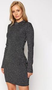 Sukienka Calvin Klein mini z długim rękawem