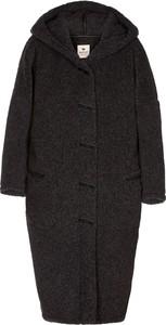Czarny płaszcz Alwero