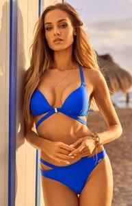 Niebieski strój kąpielowy Madora w stylu casual
