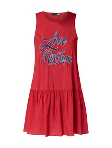 Czerwona sukienka Love Moschino bez rękawów