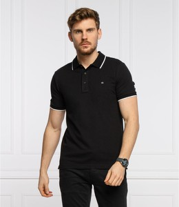 Czarna koszulka polo Calvin Klein