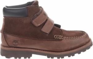 Buty dziecięce zimowe Timberland na rzepy ze skóry