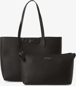 Czarna torebka Guess Jeans duża