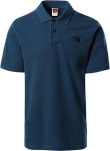 Koszulka polo The North Face z bawełny w stylu casual z krótkim rękawem
