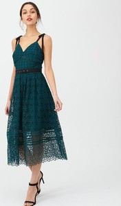 Zielona sukienka V by Very