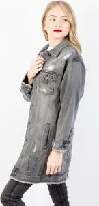 Kurtka Olika z jeansu długa w młodzieżowym stylu