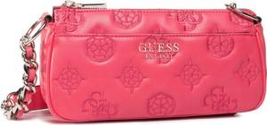 Różowa torebka Guess