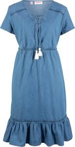 09dd8d3273 sukienka dżinsowa rozmiar 48 - stylowo i modnie z Allani