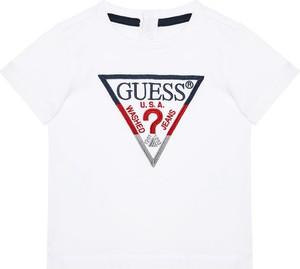 Koszulka dziecięca Guess dla chłopców z krótkim rękawem