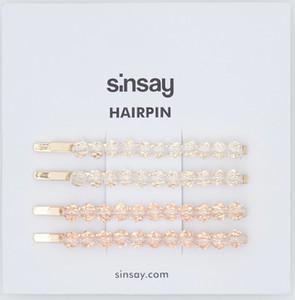 Sinsay - Spinki do włosów - Złoty