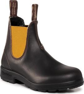 Czarne botki Blundstone w stylu casual