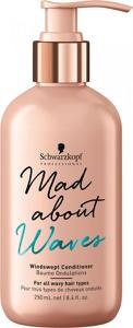 Schwarzkopf Mad About Waves Windswept | Odżywka dająca efekt potarganych loków 250ml