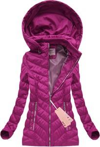 Różowa kurtka mhm w stylu casual