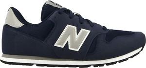 Buty sportowe New Balance na koturnie w sportowym stylu 373