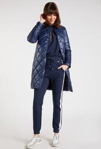 Granatowy płaszcz Monnari w stylu casual