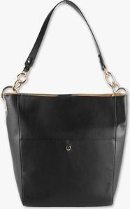 Czarna torebka C&A w stylu casual