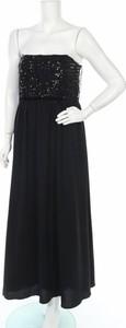 Sukienka Maison 123 bez rękawów maxi z dekoltem w kształcie litery v
