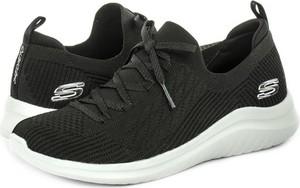 Czarne buty sportowe Skechers flex