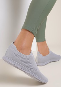 Buty sportowe Renee z płaską podeszwą z zamszu