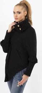 Czarny sweter Makadamia
