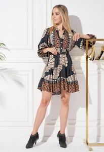 Sukienka Ella Boutique z długim rękawem