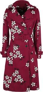 Czerwony płaszcz Emp w stylu casual