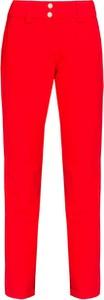 Czerwone spodnie sportowe Descente