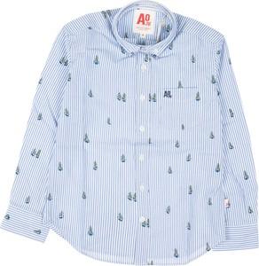 Niebieska koszula dziecięca American Eagle dla chłopców