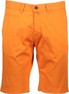 Pomarańczowe spodenki Pierre Cardin w stylu casual