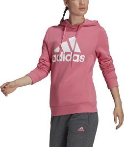 Bluza Adidas z kapturem z dresówki w sportowym stylu
