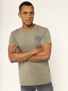 Brązowy t-shirt G-Star Raw