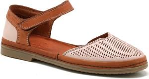 Sandały Manitu w stylu casual