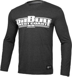 Koszulka z długim rękawem Pit Bull z długim rękawem z bawełny