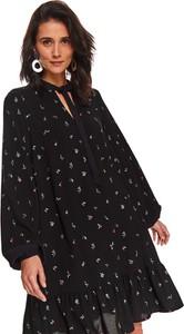 Sukienka Top Secret z długim rękawem mini koszulowa