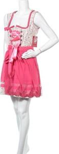Różowa sukienka SPIETH & WENSKY mini