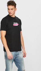Czarny t-shirt Diesel