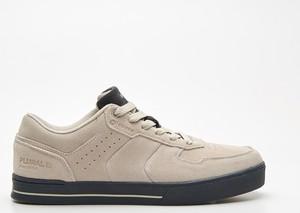Cropp - Sneakersy z naturalnej skóry - Jasny szary