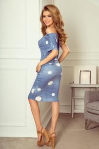 4e763d6b70 Sukienka NUMOCO z krótkim rękawem hiszpanka