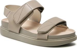 Sandały Vagabond ze skóry z klamrami w stylu casual